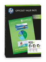 HP 935XL Office Value Pack Original Cyan,Magenta,Yellow 3 pc(s)
