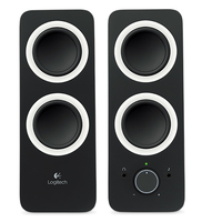 Logitech Z200 loudspeaker Black Wired 3.5 mm