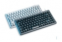 CHERRY Compact Keyboard, QWERTY, 83 keys, Combi USB/PS2, Light Grey