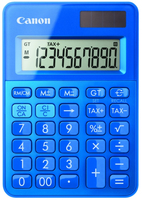 Canon LS-100K calculator Desktop Basic Blue