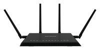 Netgear R7800 Dual-band (2.4 GHz / 5 GHz) Gigabit Ethernet Black wireless router