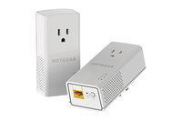 Netgear PLP1000 1000 Mbit/s Ethernet LAN White 2 pc(s)