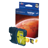 Brother LC-1100HYY Ink Cartridge Original yellow 1 pc(s)