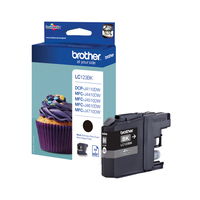Brother LC-123BK ink cartridge Original Black 1 pc(s)