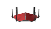 D-Link DIR-890L wireless router Tri-band (2.4 GHz / 5 GHz / 5 GHz) Gigabit Ethernet Red