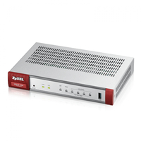 Zyxel ZyWALL USG20-VPN-EU0101F wired router Gigabit Ethernet Grey,Red