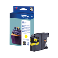 Brother LC-123Y ink cartridge Original Yellow 1 pc(s)