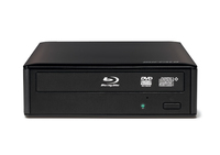 Buffalo BRXL-16U3-EU Blu-Ray DVD Combo Black optical disc drive