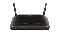 D-Link DSL-2750B/E Fast Ethernet Black wireless router