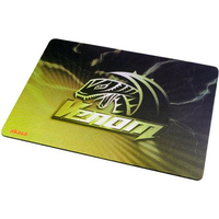 Akasa AK-MPD-02YL Black, Yellow mouse pad