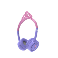 ifrogz Little Rockerz Costume Supraaural Head-band Pink